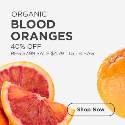 Blood Oranges 40% Off