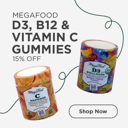 Gummies - D3, B12 & Vitamin C 15% Off