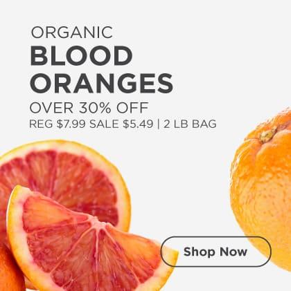 Blood Oranges Over 30% Off