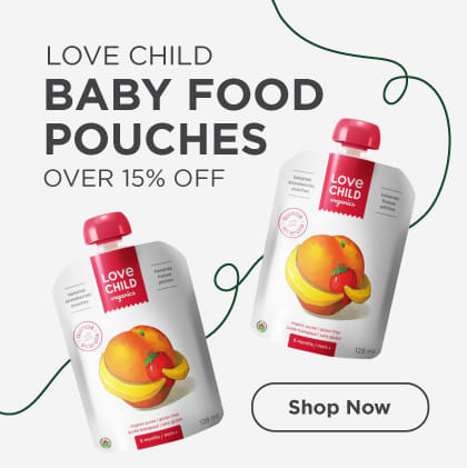 Baby Food Pouches Over 15% Off