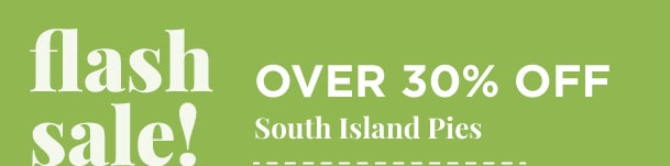South Island Pies - Over 30% Off