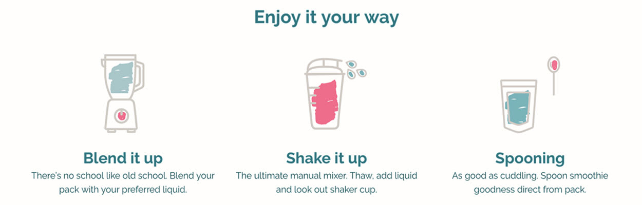 How to enjoy blended smoothies