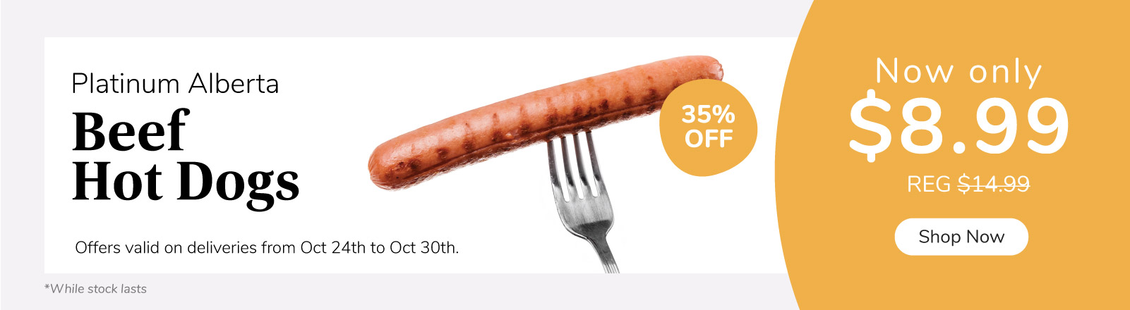 Hot Deal on Hot Dogs
