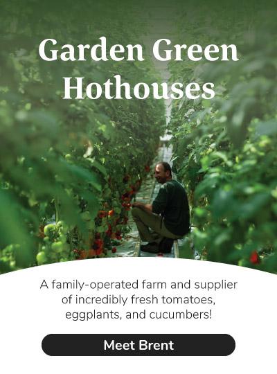 Meet the farmers at Garden Green Hothouses