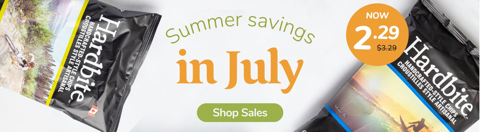 Summer Savings in July
