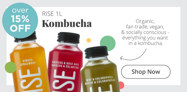 RISE IL Kombucha Over 15% Off