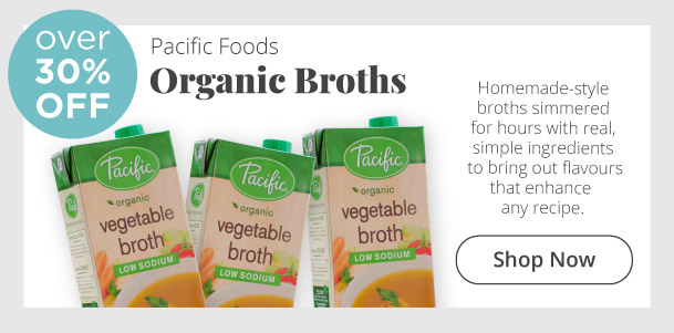 Pacific Foods - Organic Broths - Over 30% Off