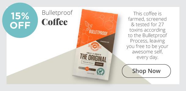 Bulletproof Coffee - 15% Off