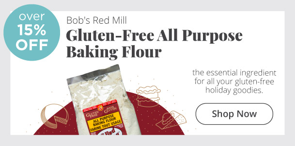 Bob's Red Mill - Gluten-Free All Purpose Baking Flour - Over 15% Off