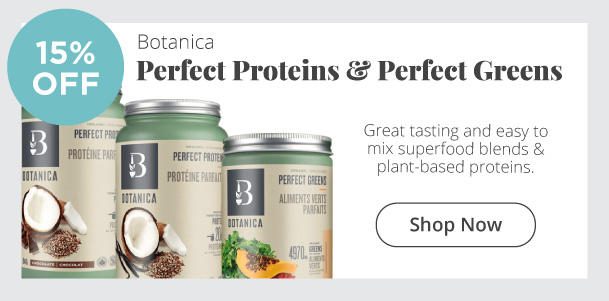 Botanica - Perfect Proteins & Perfect Greens - 15% Off