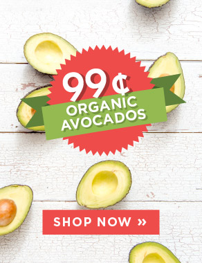 Holy Guacamole - Organic Avocados are 99 cents each at SPUD.ca!