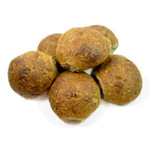 Organic Sprouted Wheat Buns *order 2 days before delivery*- Code#: BR0504