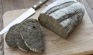 Dark Rye Bread, Unsliced- Code#: BR164