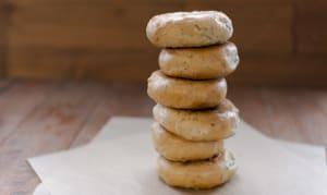 Rosemary & Rock Salt Bagels- Code#: BR222
