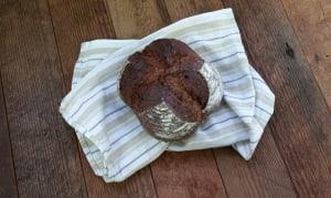 Dark Rye Cocoa Sourdough- Code#: BR3520