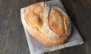 Organic White Sourdough UNSLICED- Code#: BR8023