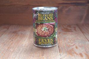 Organic Traditional Refried Beans- Code#: BU0107