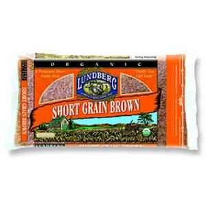 Organic Rice Short Grain Brown- Code#: BU3352