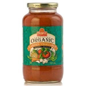 Organic Garden Vegetable Sauce- Code#: BU3820