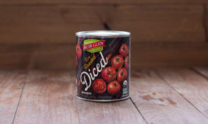 Organic Fire Roasted Diced Tomatoes- Code#: BU404