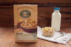 Organic Crunchy Vanilla Breakfast Cereal- Code#: CE018