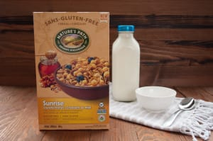 Organic Crunchy Honey Breakfast Cereal- Code#: CE1101