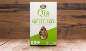 Organic Qi'a Coconut Chia Superflakes- Code#: CE1278