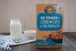 Organic Flax Plus Multibran Cereal- Code#: CE214