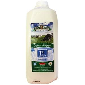 Organic 1% Milk- Code#: DA8009