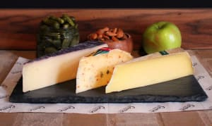 For the Love of Cheese - Aged & Fabulous Platter- Code#: DA8044
