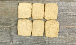 Organic Island Wheat Shortbread- Code#: DE0364