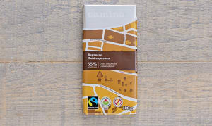 Organic Espresso Chocolate Bar- Code#: DE116