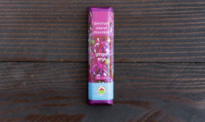 Organic Gingerama Chocolate Bar- Code#: DE251