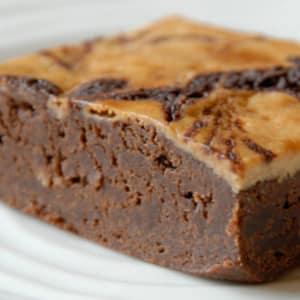 Silky Fudge Cream Cheese Brownie- Code#: DE289