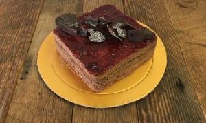 Raspberry Chocolate Mousse Cake- Code#: DE3185