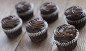 Vegan Chocolate Cupcakes- Code#: DE379