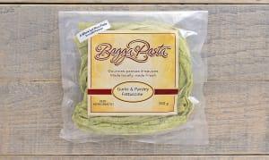 Garlic & Parsley Fettuccine- Code#: DN0107