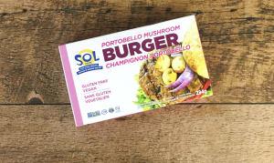Portobello Mushroom Burger (Frozen)- Code#: DN551