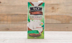 Organic Coconut Beverage Unsweetened- Code#: DR259