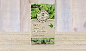 Organic Green Tea Peppermint- Code#: DR917
