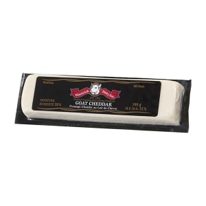 Goat Cheddar - White - Medium- Code#: DY0100