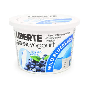 Greek Style Blueberry Yogurt 0% Fat- Code#: DY3106