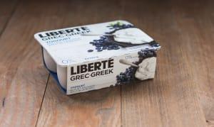 0% Fat Greek Blueberry Yogurt Multi-pack- Code#: DY3130