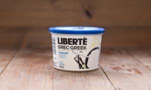 Greek Style Vanilla Yogurt 0% Fat- Code#: DY410