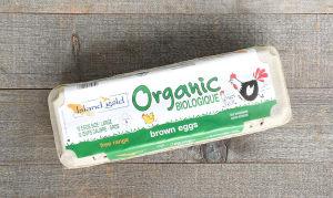 Organic Certified Free Range Brown Eggs- Code#: EG0130