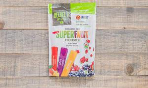Organic Super Fruit Freezies   freeze-at-home juice bar - Code#: FD700