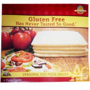 Personal Size Pizza Crusts (Frozen)- Code#: FZ159