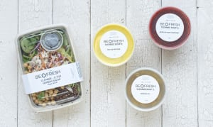 One Day Soup Cleanse with D. Tox Quinoa Salad & Lemon Ginger Shot- Code#: LL1655
