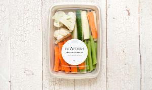 Organic Mixed Snacking Veg Tray- Code#: PR217007NCO