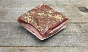 Spiced Pepper Bacon (Frozen)- Code#: MP0318